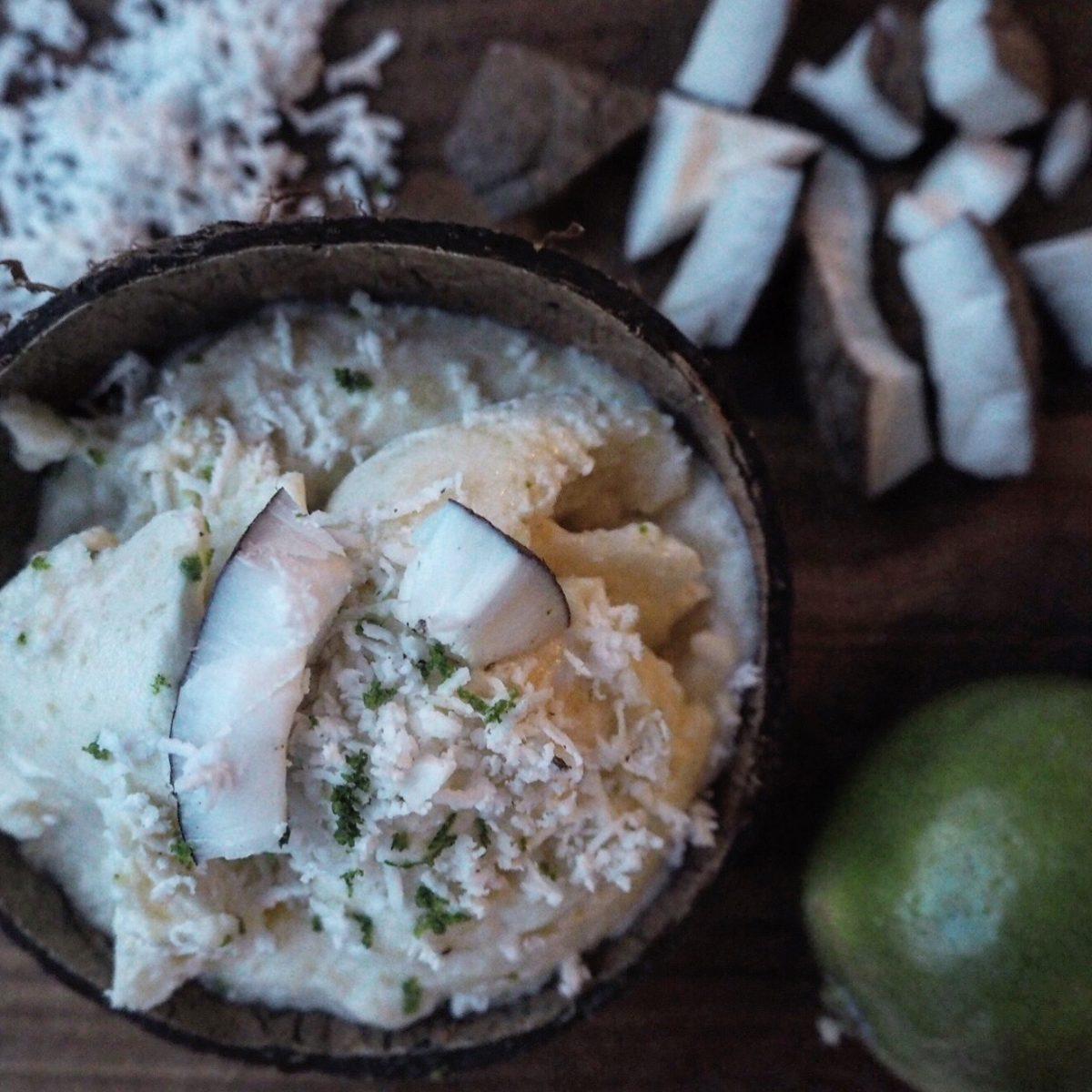 färsk kokosnöt recept